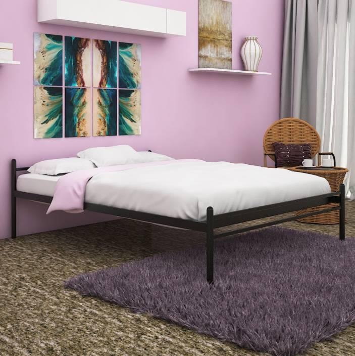 FurnitureKraft Zurich Metal Queen Bed