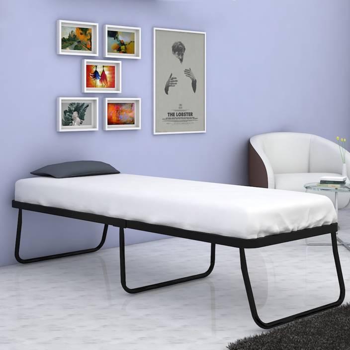 Camabeds Needus Folding Metal Single Bed