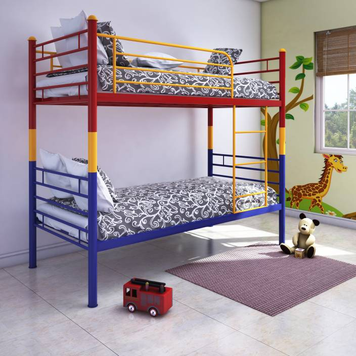 Home By Nilkamal Nemo Metal Bunk Bed Price In India Buy Home By