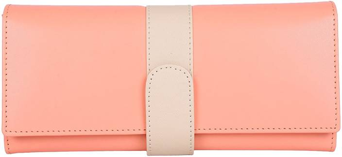 Yours Luggage Casual Orange Clutch