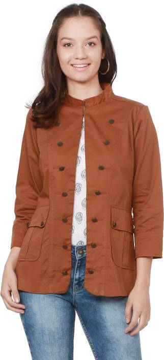 b159b413ced1e People 3/4th Sleeve Solid Women NA Jacket - Buy People 3/4th Sleeve ...