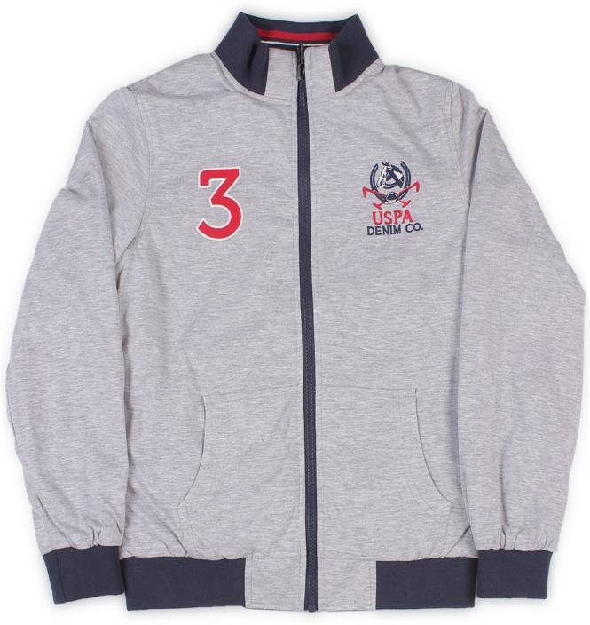 57b973058 US Polo Kids Full Sleeve Solid Boys Sports Jacket - Buy NAVY US Polo Kids  Full Sleeve Solid Boys Sports Jacket Online at Best Prices in India |  Flipkart.com