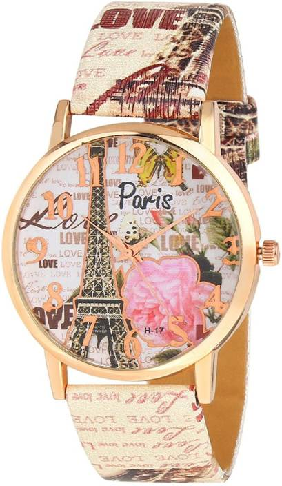 TOREK Limited Edition Paris Effil Tower MKF 2116 Watch  - For Girls
