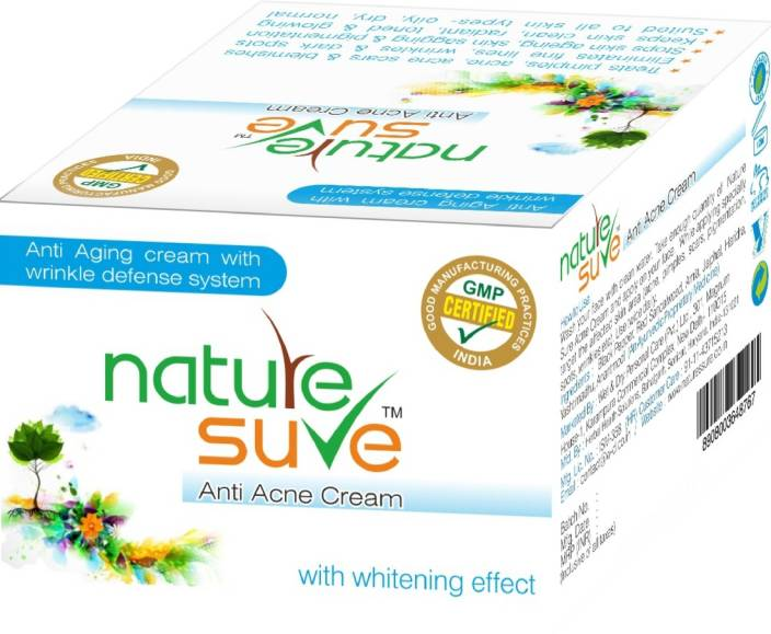 nature sure Anti Acne Cream with wrinkle defense system