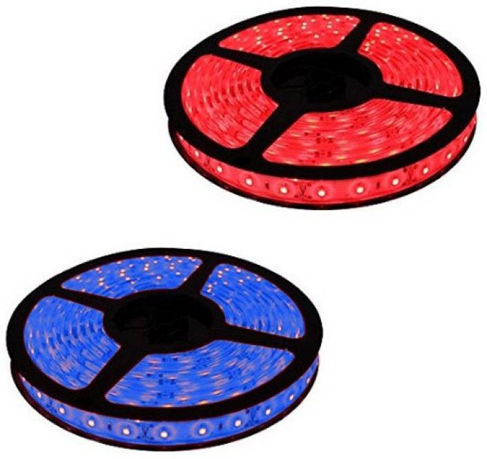 Home Delight 197 inch Blue, Red Rice Lights
