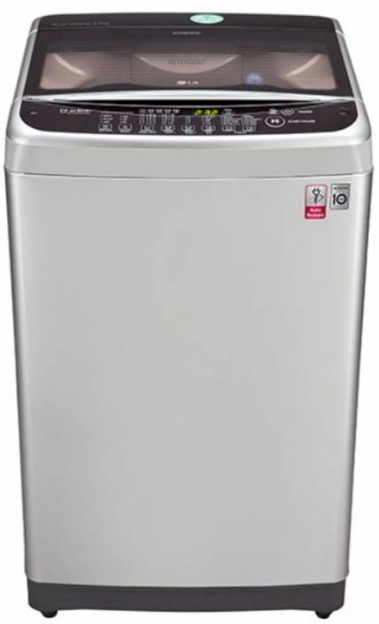 LG 6.5 kg Fully Automatic Top Load Washing Machine Silver