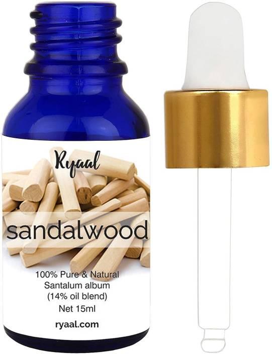 Ryaal Sandalwood Essential Oil, 100% Pure, Undiluted, Therapeutic Grade  Sandalwood Oil