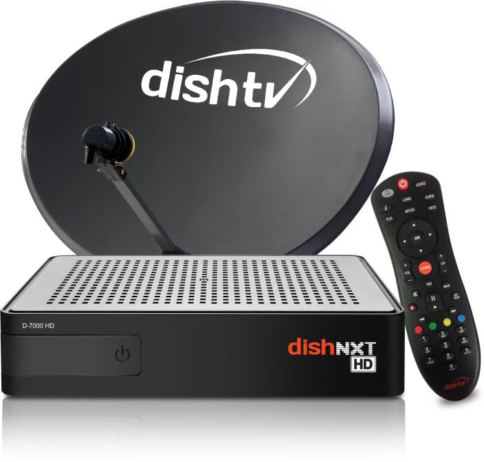 Dish TV HD Connection- Special Pack One month Super Family & 3 Month Full On HD Pack