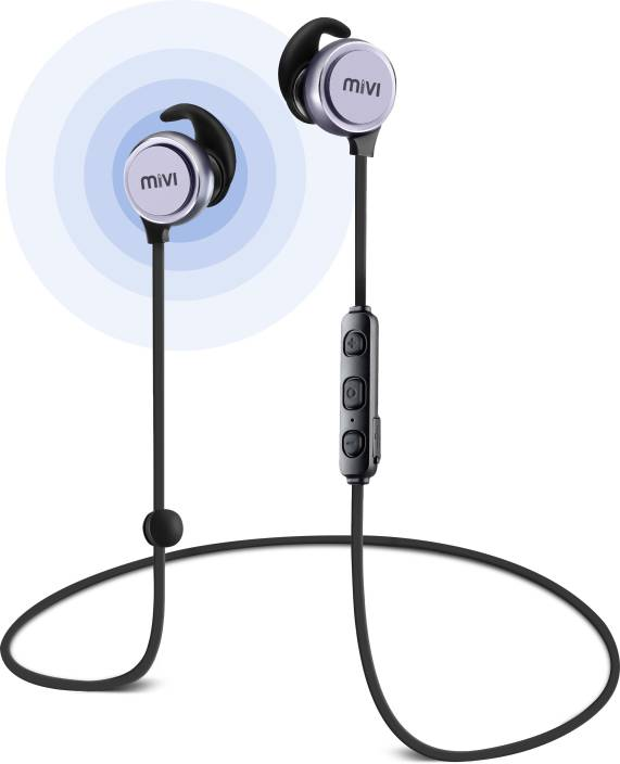Mivi BE41-SG Bluetooth Headset with Mic