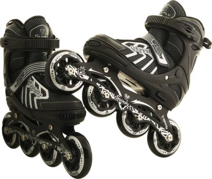 Xerobic Rollerblade Premium Fitness Skate with 4x100mm Wheels Provides Incredible Support And Long Distance Performance In-line Skates - Size 7-9 UK