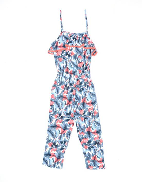 Pepe Jeans Floral Print Girls Jumpsuit
