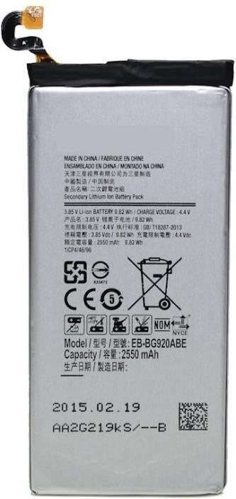Genuine Mobile Battery For Samsung S6 Price in India - Buy Genuine
