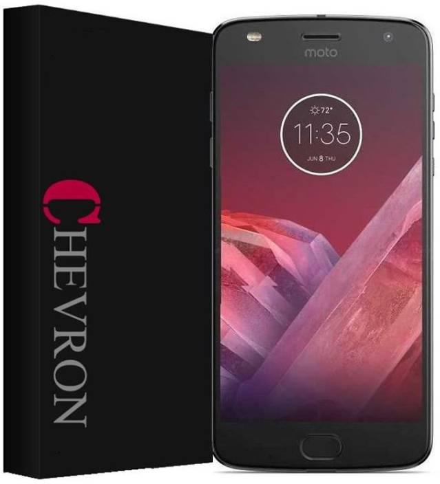 Chevron Tempered Glass Guard for Motorola Moto Z2 Play
