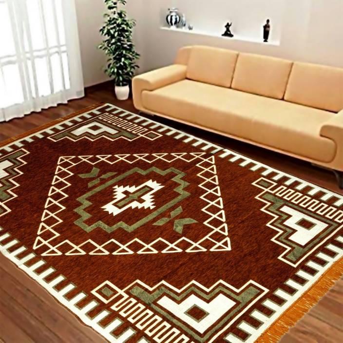 KH Maroon Chenille Carpet