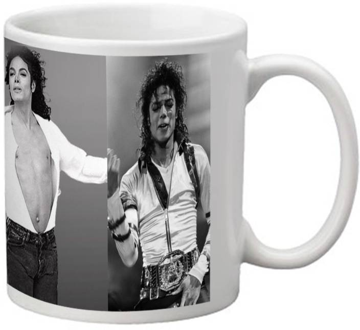 nAuGhTyHOt Michael Jackson Collage Design mug Ceramic Mug