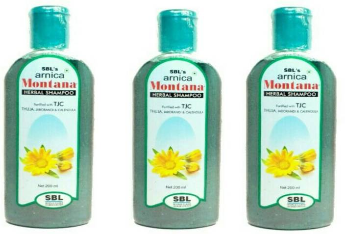 SBL Arnica Montana Herbal Shampoo with TJC (Pack of 3)