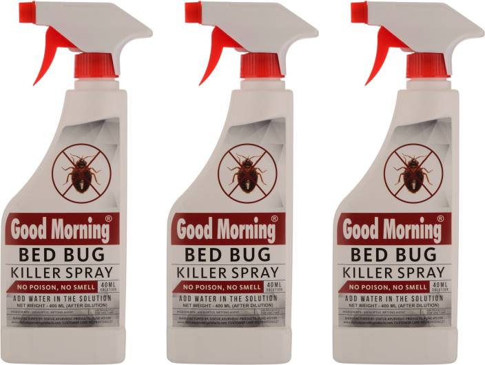 Statue Ayurvedic Good Morning Bed Bug Killer Spray - 1200 ml