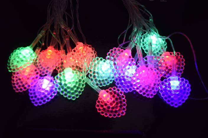 Home Delight 150 inch Red, Green, Blue Rice Lights