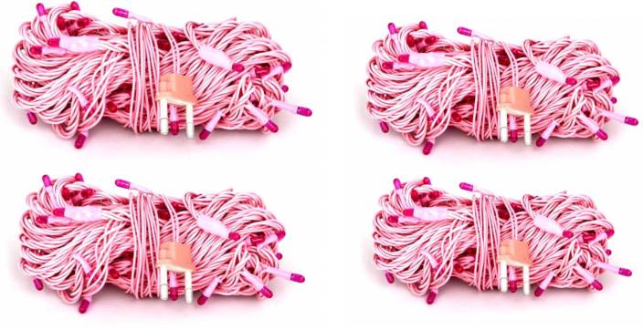 Mesmerize 160 inch Pink Rice Lights