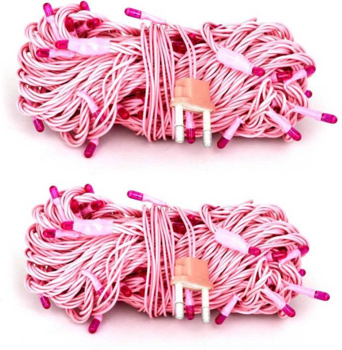 Gogle Sourcing 160 inch Pink Rice Lights
