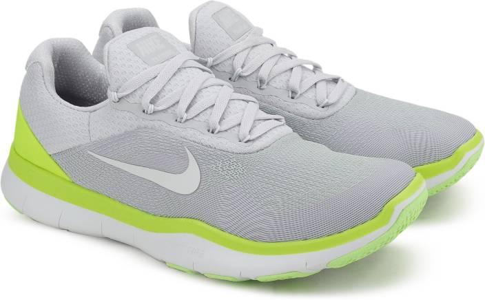 67127e2f781dd Nike FREE TRAINER V7 Training Shoes For Men - Buy PURE PLATINUM ...