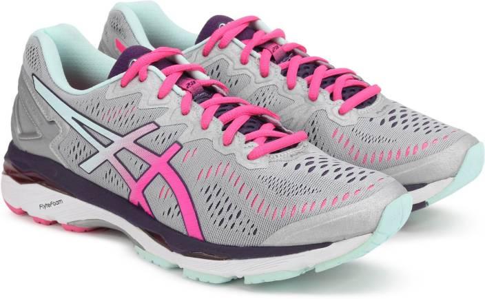 f897465938d6 Asics GEL-KAYANO 23 (D) Running Shoes For Women - Buy SLV PNK GLW ...