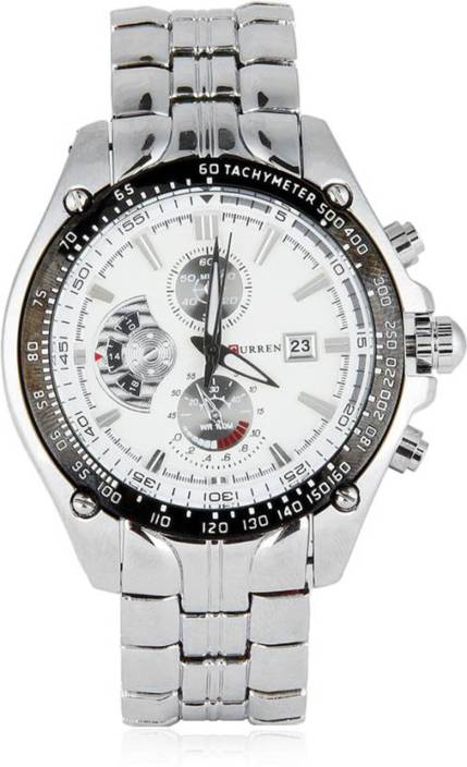 Curren Cur 02 Metal Chain Watch For Men