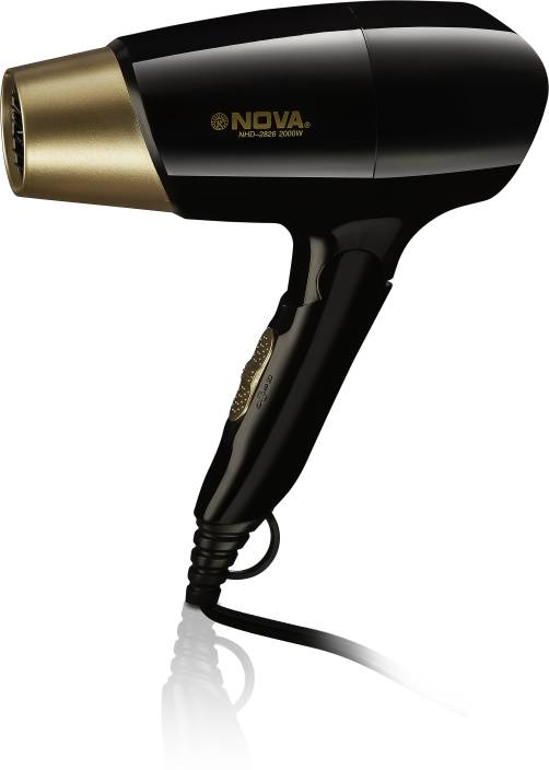 Nova Prime Series Professional hot and cold foldable 2000 w NHD 2826 Hair Dryer