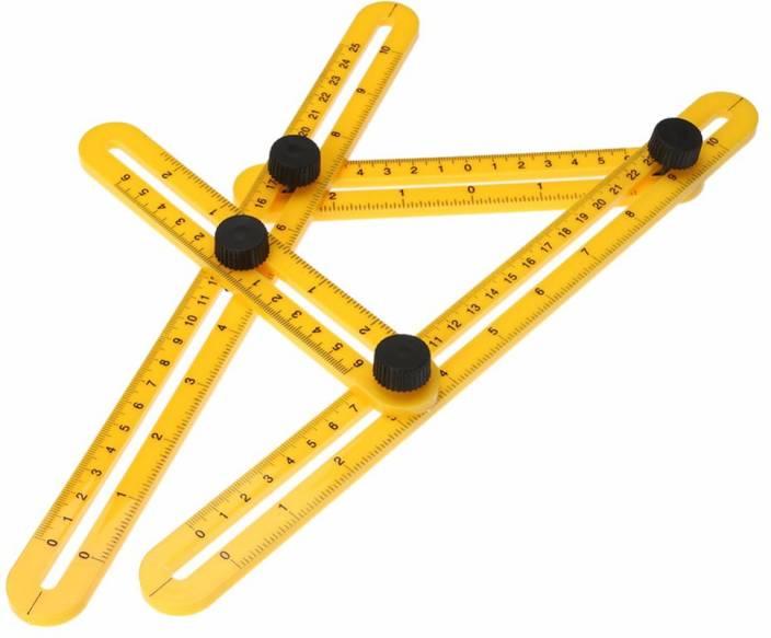 lagfly Angleizer Template Tool Multi Angle Measure Tool - Measuring Ruler -Angle Ruler for Carpenter