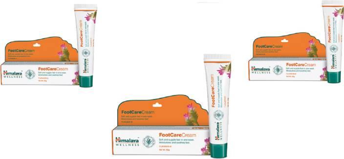 Himalaya FootCare Cream Heal cracked heels, naturally pack of 3