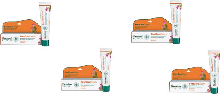 Himalaya FootCare Cream Heal cracked heels, naturally pack of 4
