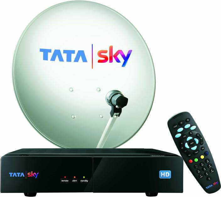 Tata Sky HD Box with 3 month access (HD viewing)