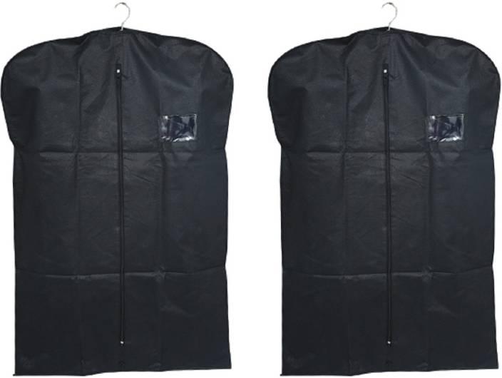 913e37610ca6 Kuber Industries Designer Men's Coat Blazer cover Foldover Breathable  Garment Bag Suit cover Set of 2 Pcs SAREESCKU8964