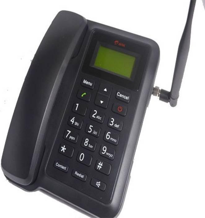 Airtel Dual Sim Gsm Landline Phone Ft-6054 Cordless Landline Phone