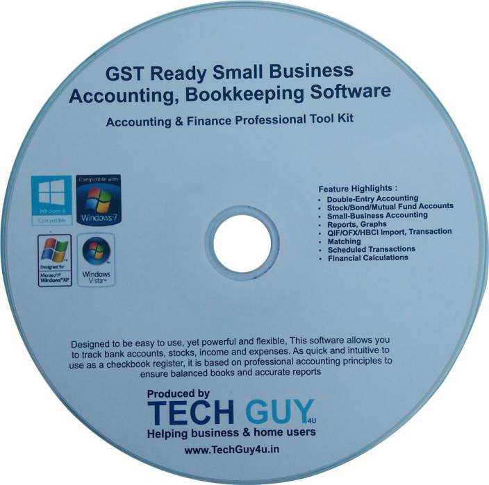 TechGuy4u GST Ready Small Business Accounting, Bookkeeping