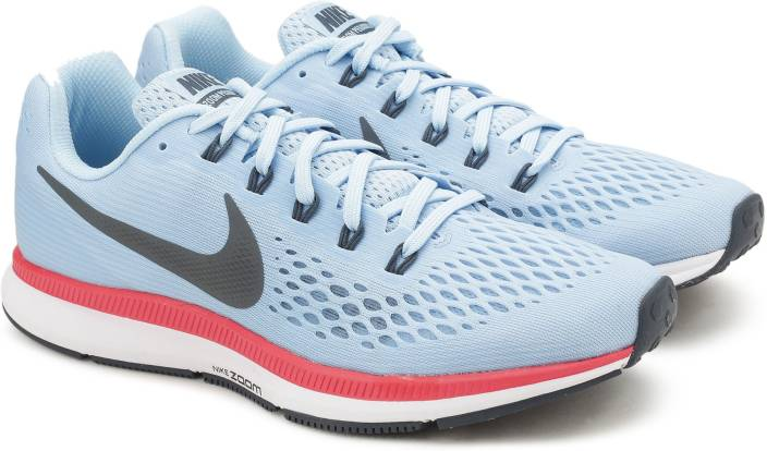 60a90d16f082d Nike AIR ZOOM PEGASUS 34 Running Shoes For Men - Buy ICE BLUE BLUE ...