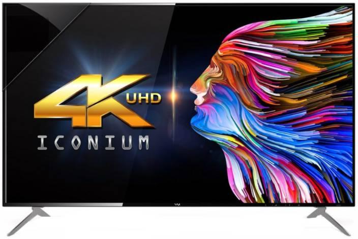 Vu 124cm (49 inch) Ultra HD (4K) LED Smart TV