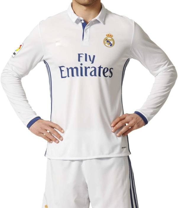 Navex Navex Footbal Jersey Club Real Madrid White Full Sleeve Ket L Football  Kit - Buy Navex Navex Footbal Jersey Club Real Madrid White Full Sleeve Ket  L ... 4a464f4ce