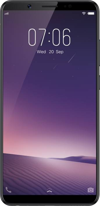 VIVO V7+ (Matte Black, 64 GB)