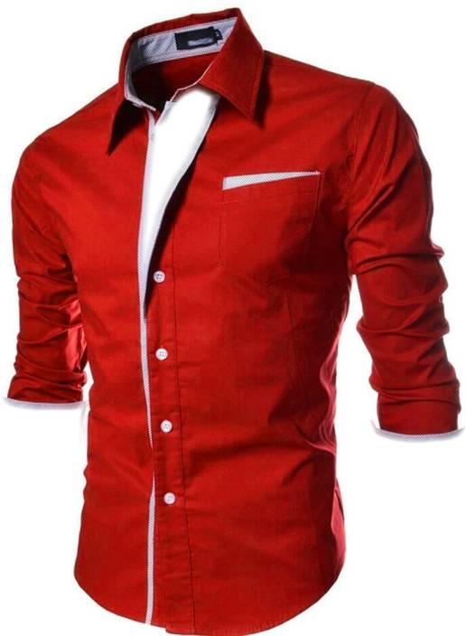 a719e143 N T FASHION Men Colorblocked Party Multicolor Shirt