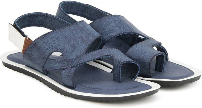 9d75aaa5b117 Bata Men Blue Sandals - Buy Blue Color Bata Men Blue Sandals Online at Best  Price - Shop Online for Footwears in India