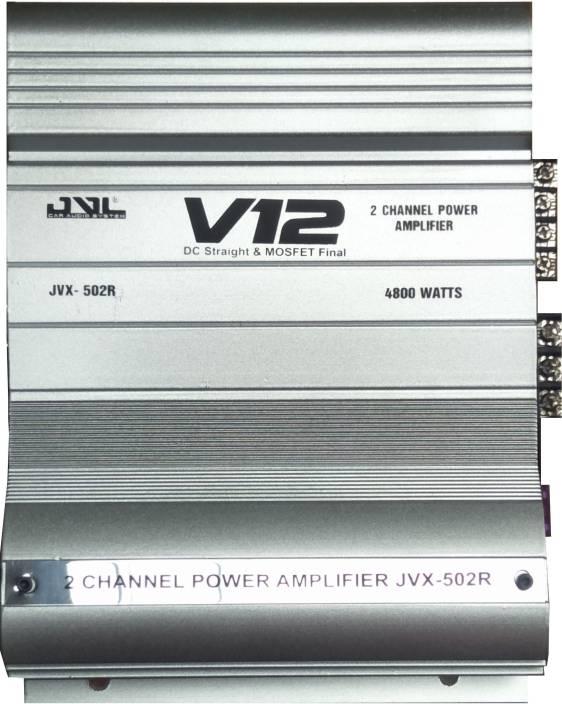 jvl High Power 2 Channel JVX-502 R Multi Class AB Car Amplifier