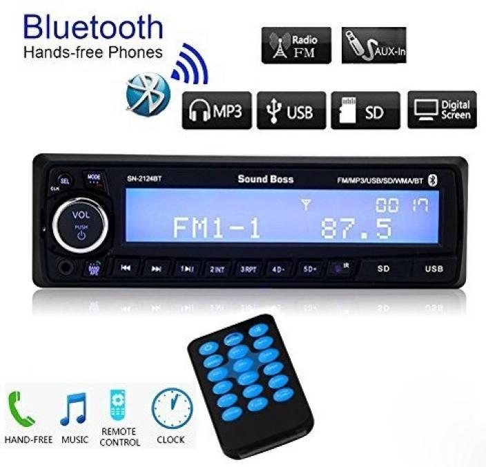 sound boss sn 2124bt bluetooth wireless with phone caller. Black Bedroom Furniture Sets. Home Design Ideas