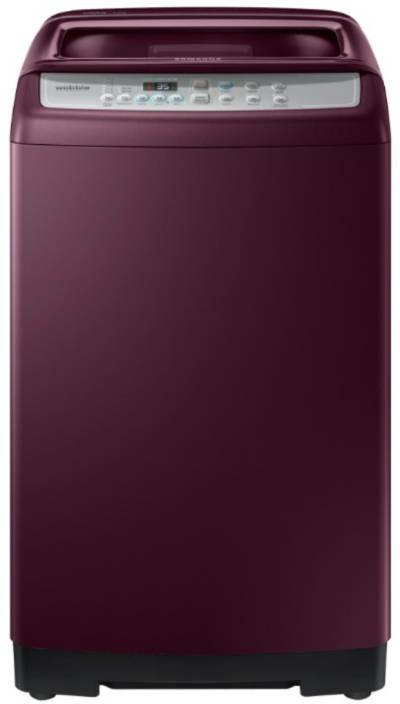 Samsung 6.5 kg Fully Automatic Top Load Washing Machine Maroon