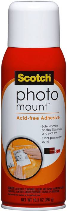 3m Photo Mount Spray Adhesive 103oz Photo Mount Spray Adhesive