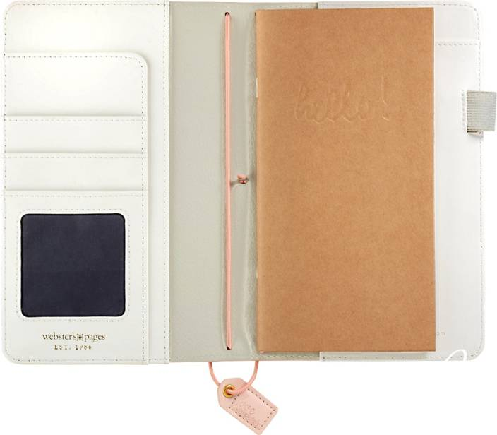 Webster S Pages Color Crush Faux Leather Travelers Planner 5 75 X8