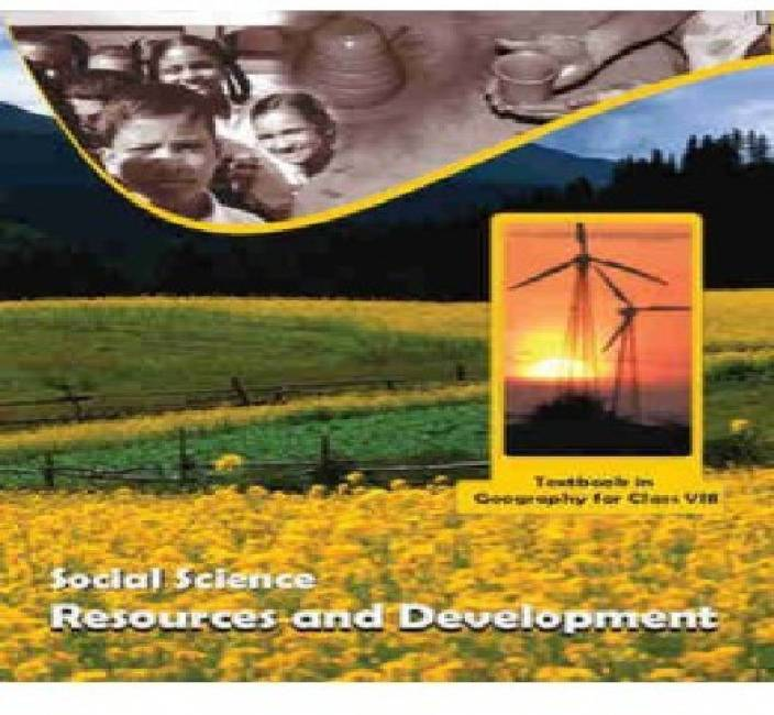 Resources And Development Geography Textbook For Class 8