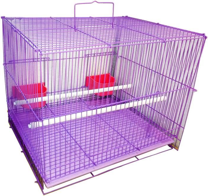 b1ddeaeb7 Petshop7 Bird Cage Purple Bird House Price in India - Buy Petshop7 Bird Cage  Purple Bird House online at Flipkart.com