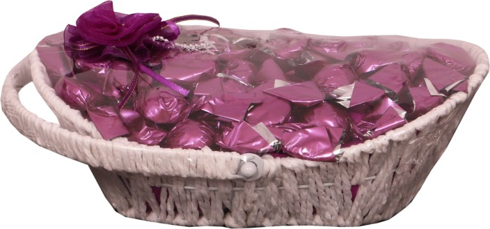 Skylofts Decorative 30pc Handle Basket Gift H&er Bars (250 g)  sc 1 st  Flipkart & Skylofts Decorative 30pc Handle Basket Gift Hamper Bars Price in ...