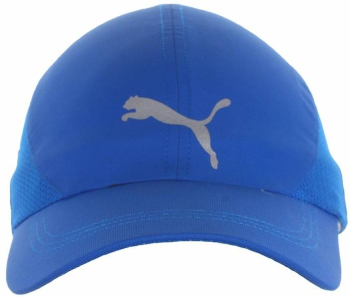 b8fffc51860 Puma Solid Unisex Pure running Blue Cap - Buy Puma Solid Unisex Pure running  Blue Cap Online at Best Prices in India